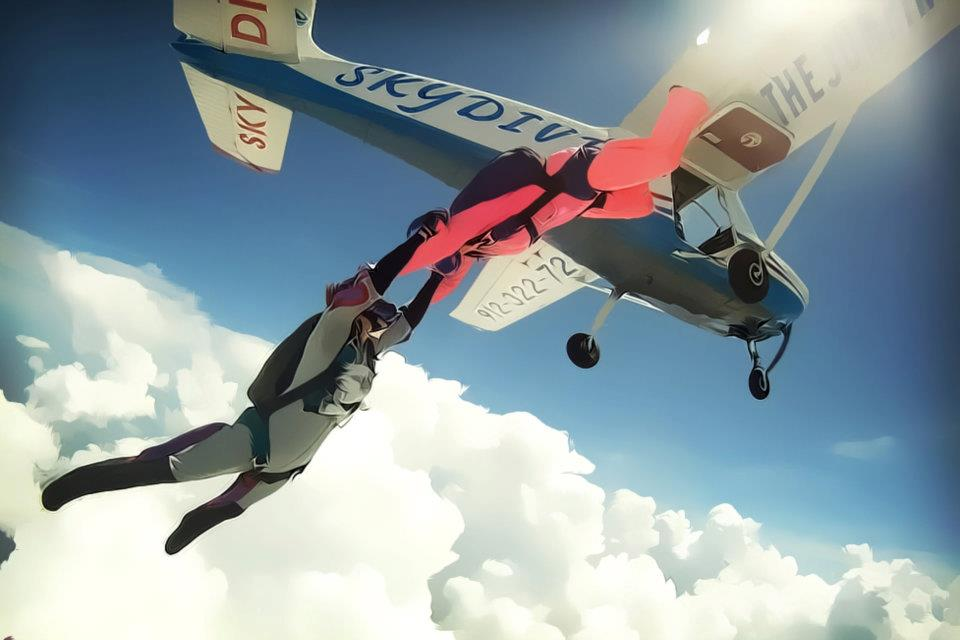 Accelerated Free Fall - Learn to Skydive in Georgia